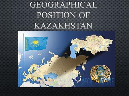 Kazakhstan is located in Central Asia and is the heartland/geographic center of Eurasia. With a surface area of 2,724,900 sq km, Kazakhstan is the 9th.