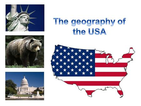 The USA is the 4 th largest country in the world (after Russia, Canada and China). It is situated in central North America and stretches from the Pacific.