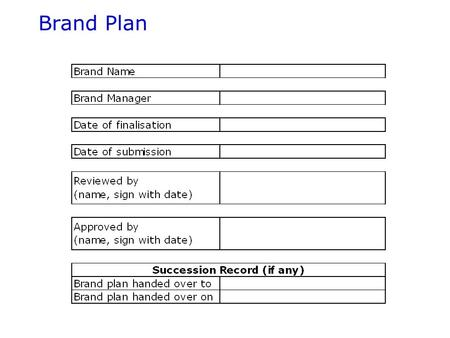 Brand Plan Brand plan flow Section I –Product Fact File –Brand History –Section I summary Section II –Brand Strategy drivers Section III –Brand targeting.
