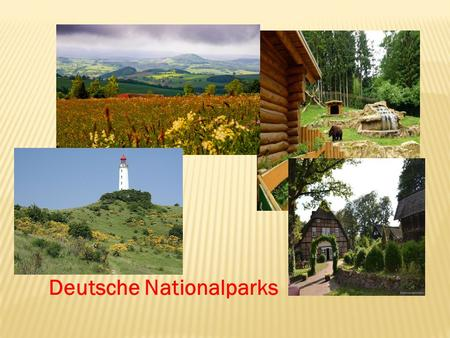 Deutsche Nationalparks.