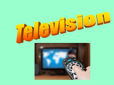 History of TV The television is one of the most prominent inventions of the 20th Century. It has become one of the most common ways people view the larger.