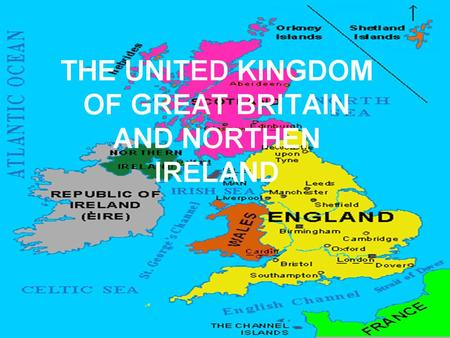 THE UNITED KINGDOM OF GREAT BRITAIN AND NORTHEN IRELAND.