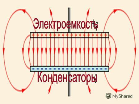 Электроемкость Конденсатор (последовательное и параллельное соединение конденсаторов).
