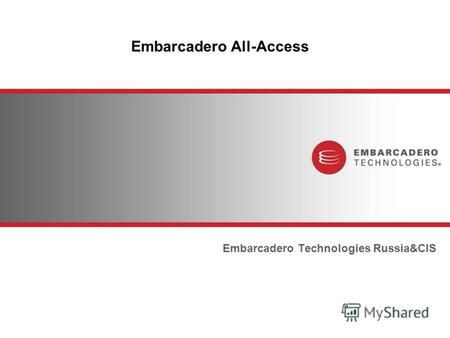 Embarcadero All-Access Embarcadero Technologies Russia&CIS.