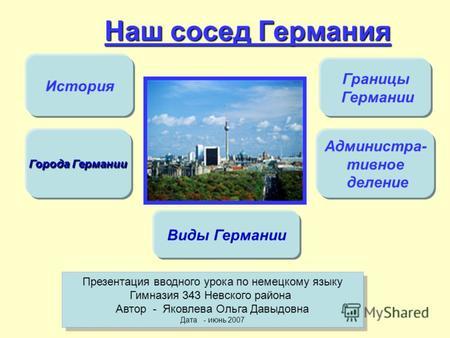 Презентация По Немецкому Языку На Тему Германия