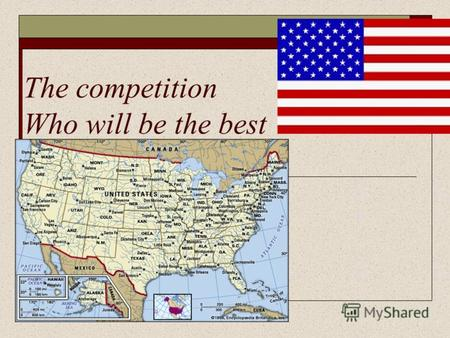 The competition Who will be the best. What is the capital of the USA?