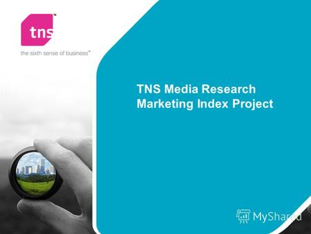 TNS Media Research Marketing Index Project. Marketing Index Описание проекта.