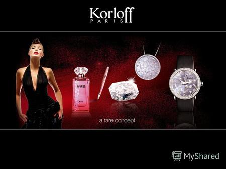 Женские кварцевые часы от французского ювелирного дома korloff gkh2/m9