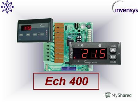 Ech 400 2 AIR CONDITIONING Контроллер для Чиллеров и Тепловых Насосов и Тепловых Насосов до 4-х компрессоров Ech 400.