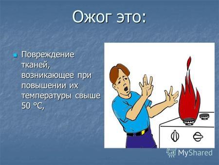 лекции по ожогам презентация
