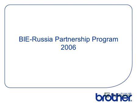 Partnership Program Russian 90