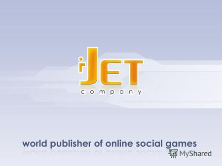 I-Jet - Social Games Publisher. Мартышкин и Админ I-Jet - Social Games Publisher.