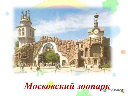 О московском зоопарке доклад 927
