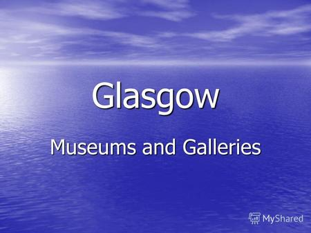 Glasgow Museums and Galleries. Depicting the history of transport on Depicting the history of transport on road, rail and sea over the centuries, Transport.