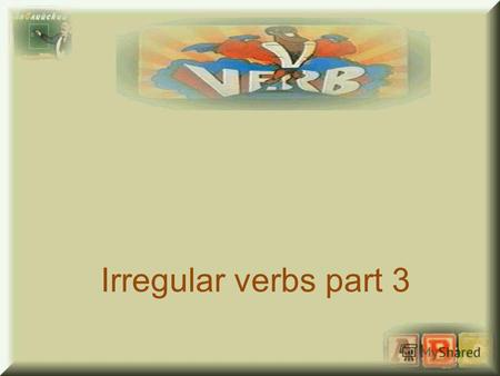 Irregular verbs part 3. feel, felt, felt чувствовать hold, held, held держать stand, stood, stood стоять understand, understood, understood понимать lose,