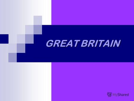 GREAT BRITAIN. GEOGRAPHY Great Britain consists of England, Scotland and Wales. Its an island. Its situated in the west of Europe. Its washed by the Atlantic.