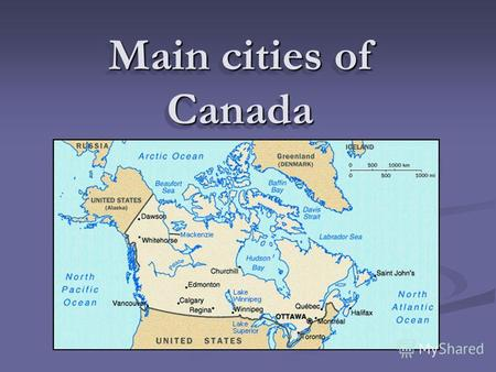 Main cities of Canada. Toronto Toronto – is capital of a province of Ontario, the largest city of Canada located on crossing of water and overland ways.