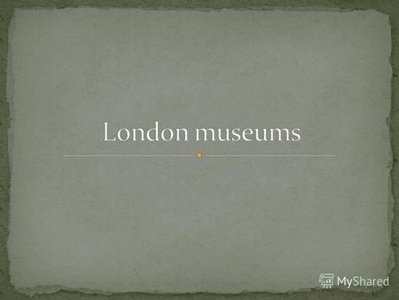 Founded in 1753, the British Museums remarkable collection spans over two million years of human history. Enjoy unique comparison of the treasures of.