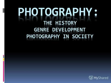 The History When was the first permanent photographic image taken?
