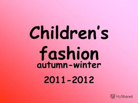 Childrens fashion autumn-winter 2011-2012. Baby Dior luxurious modern elegant.