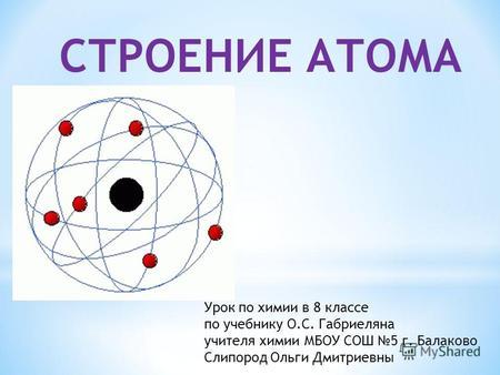 строение атома картинки по химии