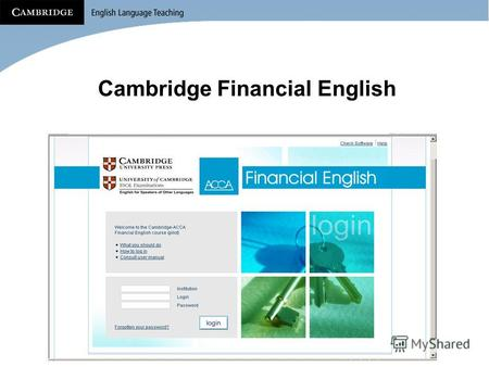 Cambridge Financial English. Blended Learning Что это?