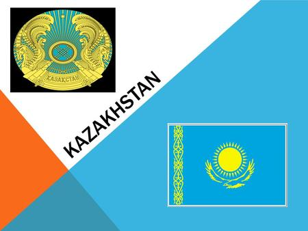 KAZAKHSTAN Kazakhstan is situated in Central Asia. Kazakhstan borders on Kirgizia, Uzbikistan, Turkministan in the south, China in the east and Russia.