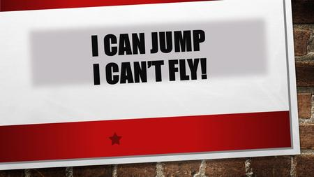 I CAN JUMP. dance run sing jump swim CAN YOU RUN? - YES, I CAN. - NO, I CANT.