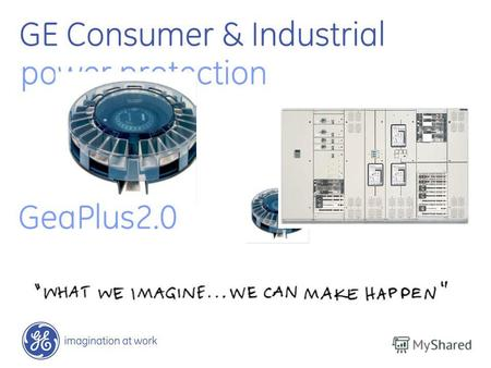 GE Consumer & Industrial power protection GeaPlus2.0.
