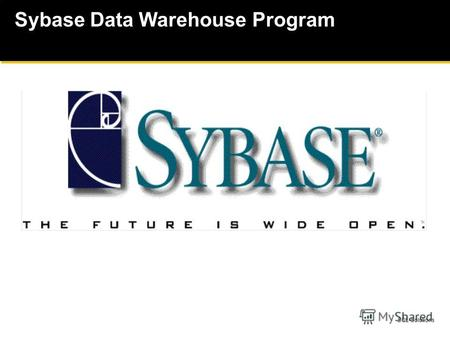 SQL-Solutions Sybase Data Warehouse Program. SQL-Solutions Распределенный анализ Централизованный сбор данных Функции хранилищ данных Собирание данных.