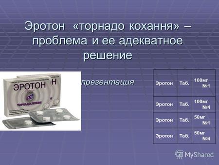 силденафил и папаверин