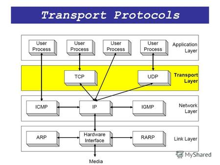 Transport Protocols. Transport Layer Port Numbers UDP (and TCP) use port numbers to identify applications A globally unique address at the transport.