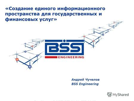 Андрей Чучелов BSS Engineering «Создание единого информационного пространства для государственных и финансовых услуг»