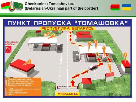 Checkpoint «Tomashovka» (Belarusian-Ukrainian part of the border)