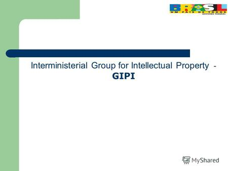Interministerial Group for Intellectual Property - GIPI.