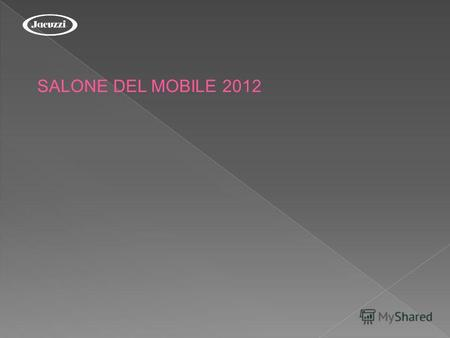 SALONE DEL MOBILE 2012. Bathroom SHARP Double SHARP Extra OPALIA Corian MOOVE Blower.