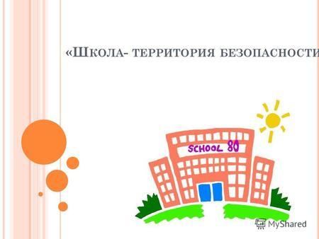 Школа Территория Безопасности Презентация