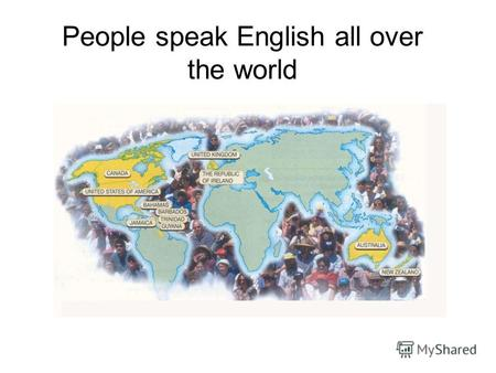 People speak English all over the world. Choose the reasons for learning English English is necessary for communication with people when you are abroad.