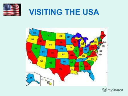 VISITING THE USA. On what continent is the USA situated?