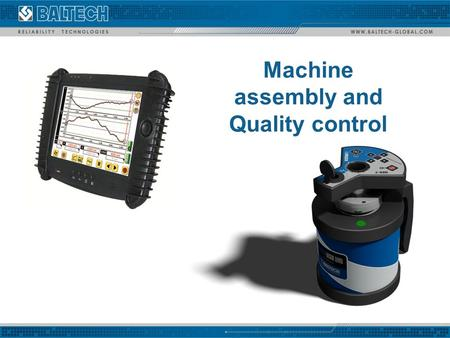 Machine assembly and Quality control. Measurement and control straightness, flatness, parallelism and perpendicularity of technological equipment and machines.