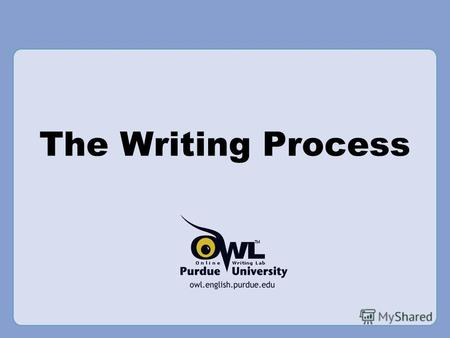 The Writing Process. Introduction What you will learn from this presentation: How to invent, compose, and revise.