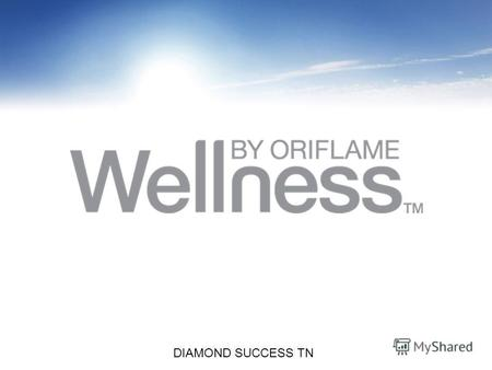 Copyright ©2010 by Oriflame Cosmetics SA DIAMOND SUCCESS TN.
