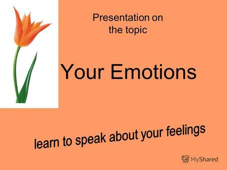 Your Emotions Presentation on the topic. Are you happy today? Is your friend sad? Is your mother tired? Were you happy yesterday? Was your mother bored?
