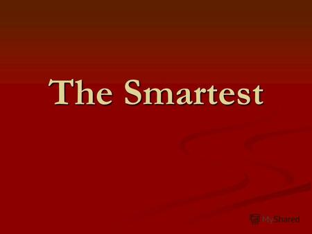 The Smartest. The 1-st tour The capital of Australia is… 1. Sydney 2. Canberra 3. Melbourne 4. Brisbane.