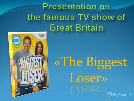 Presentation on the famous TV show of Great Britain