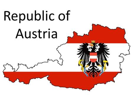 Republic of Austria. Capital: Vienna (population: 1,840,573) Population: 8,725,931 Currency: Euro Nominal GDP: $ billion (29 th in the world) GDP.