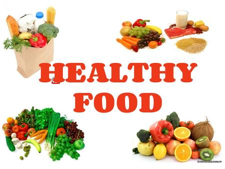 HEALTHY FOOD. All food is made up of nutrients which our bodies use. There are different kinds of nutrients: w Carbohydrates w Proteins w Fats w Vitamins.