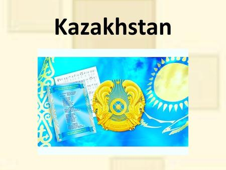 Kazakhstan Kazakhstan Kazakhstan is a country in Central Eurasia, a large part of which belongs to Asia, less to Europe. Population people The.
