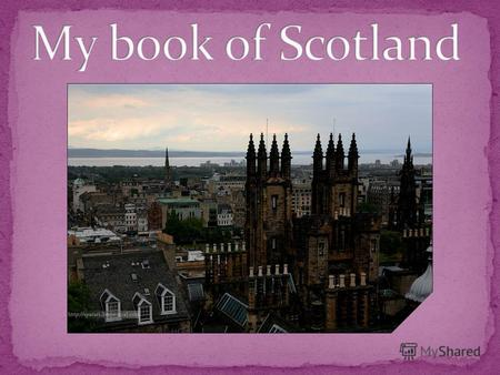 My book of Scotland