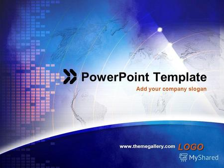 LOGO PowerPoint Template www.themegallery.com Add your company slogan.